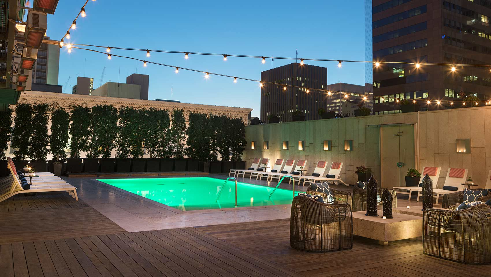 kimpton hotel palomar san diego pool - San Diego Luxury Hotels And Resorts